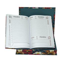 agenda diária com caixa