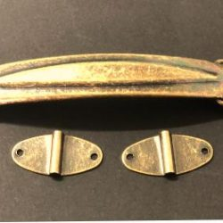 alça metalica ouro velho