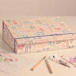 caixa de desenho fechada
