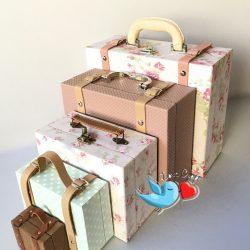 maletas retangulares
